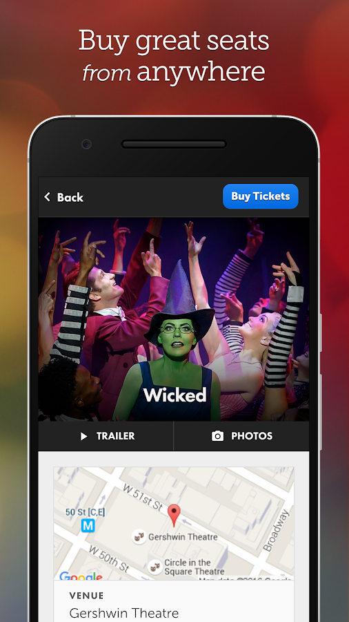 Broadway.com - Tickets & News- screenshot