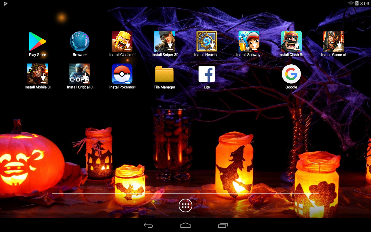 halloween wallpapers 4k ultra hd android apps on google play