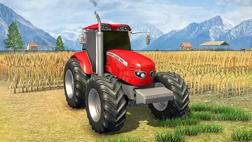 Farmland Simulator 3D: Tractor Farming Games 2020 apkpoly screenshots 3