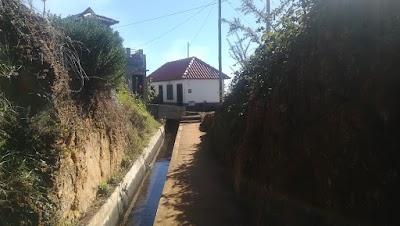 Casa da levada in the São Lourenço hamlet on the Levada Nova