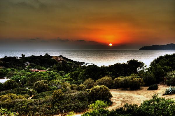 Sea sunset di Daniele Pernolino