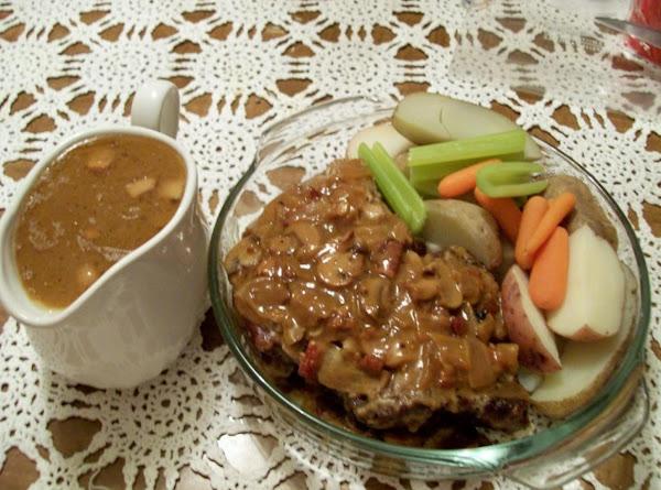 Pot Roast Braised With Mushrooms N Onions, Sunday Dinner, By Freda Recipe