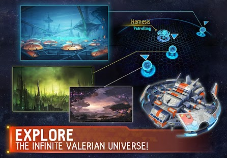 Valerian: City of Alpha Android screenshot