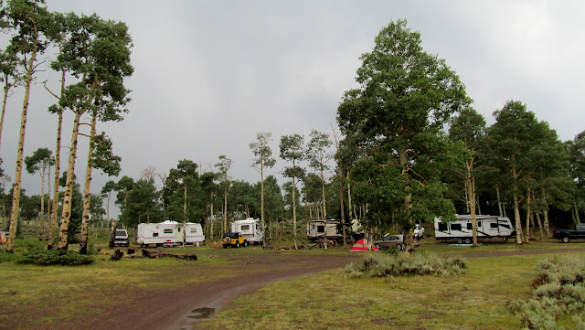 Camp after the rain