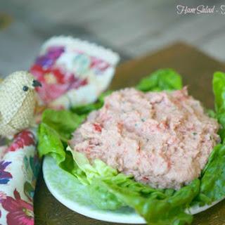 Lightened Ham Salad.