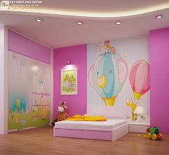 Photo: Phòng ngủ trẻ em (view 1)