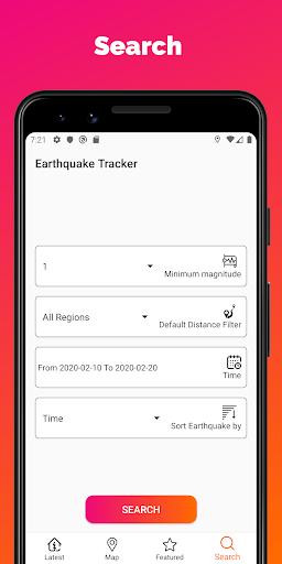 Earthquake Tracker - Latest quakes, Alerts & Map 3.0.1 screenshots 4