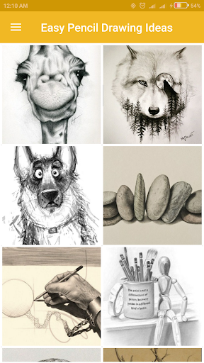 Easy Pencil Drawing Ideas