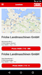 Fricke Landmaschinen- screenshot thumbnail