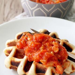 Savory Waffled Stromboli