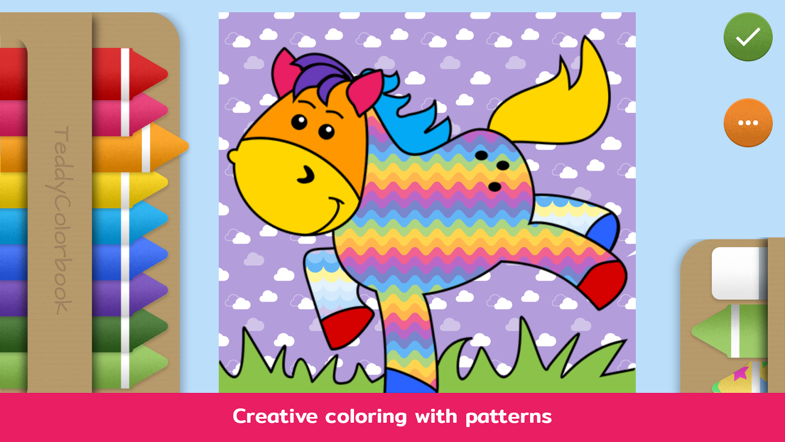 teddy colorbook coloring book for kids u0026 toddlers android apps
