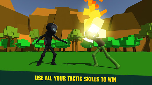 Sticky Man Zombie Fighting Epic Battle Simulator