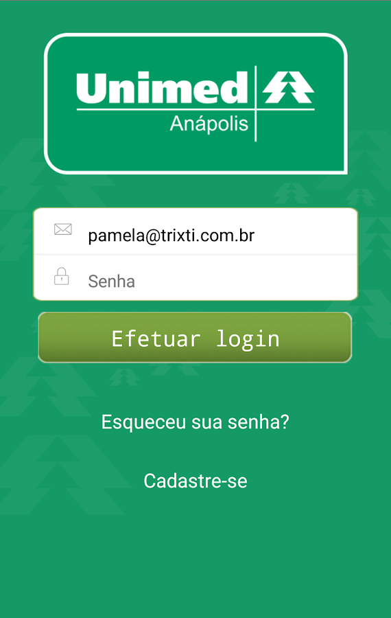 Unimed Anápolis Beneficiário- screenshot