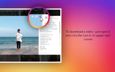Downloader for Instagram Chrome插件下载crx 扩展介绍- 插件迷