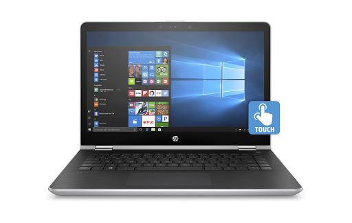 Máy tính xách tay/ Laptop HP Pavilion X360 14-ba080TU (3MR79PA) (Vàng)