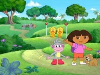 Dora va à la fête des jumeaux
