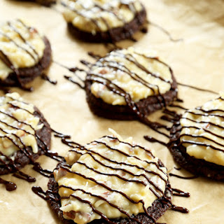 Gluten Free German Chocolate Cake Cookies
