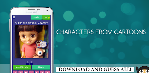 Can you guess all Pixar characters? DOWNLOAD AND TRY :) We bet you can not!