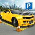 City Car Driving & Parking School Test Simulator icon