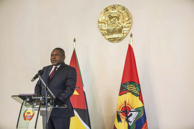 Mozambique President Filipe Nyusi. File photo.