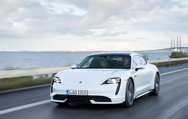 Despite a low blow to the automotive industry by a raging pandemic, Porsche electrified spirits with its first all-electric Taycan model.