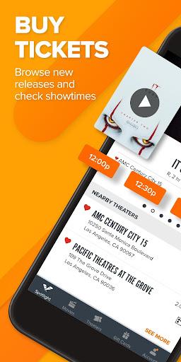 Fandango Movie Tickets & Times 8.8.1 screenshots 1