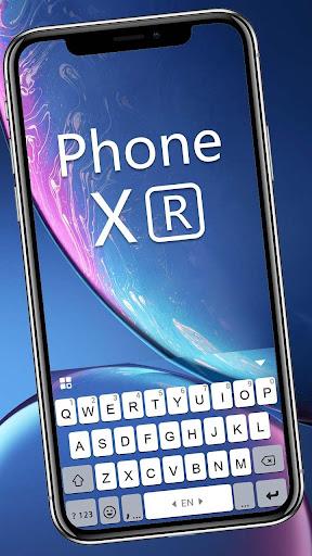 xr new phone keyboard screenshot 1