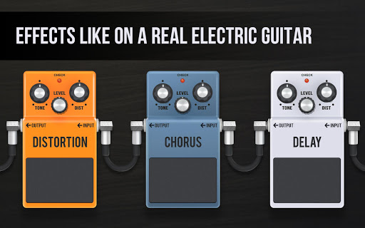 Real guitar - guitar simulator with effects 1.7.1 screenshots 4