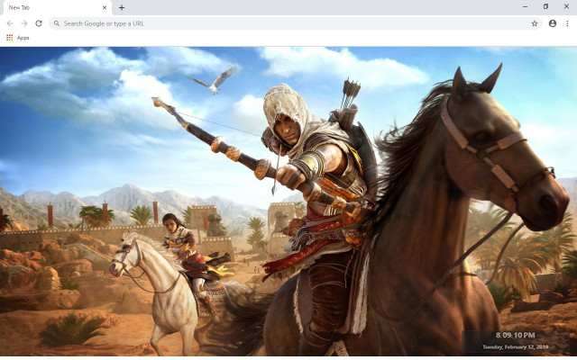 Assassin's Creed Origins New Tab