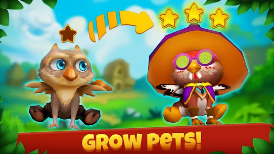 Epic Pets: Match 3 story with fashion animals 2