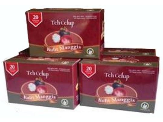 Teh Celup Kulit Manggis UD Raya Kudus murni berkualitas nikmat herbal kanker darah tinggi