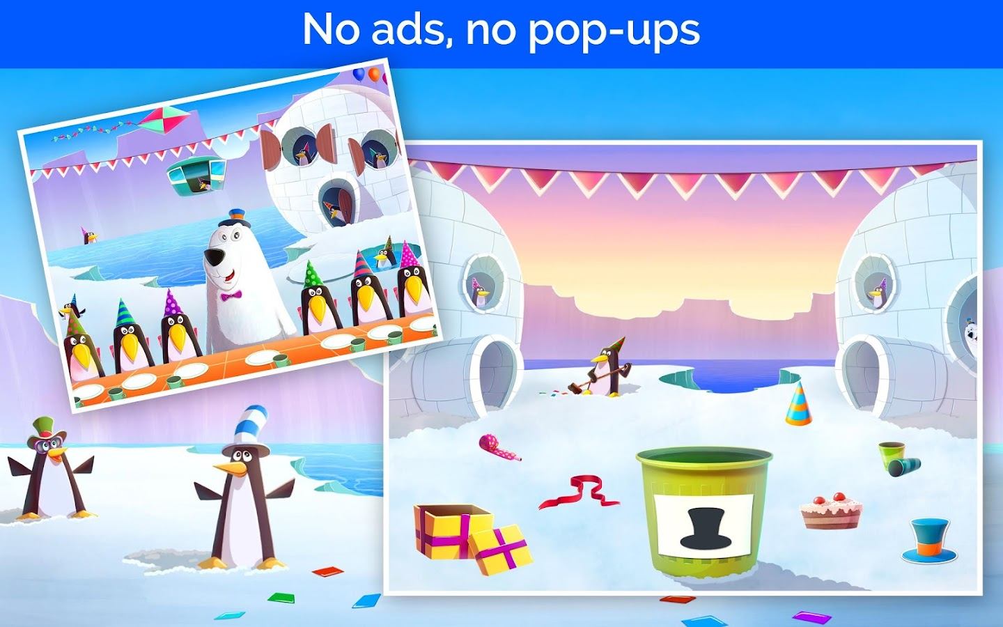 Co color by number games kids - Birthday Party Games For Kids Screenshot