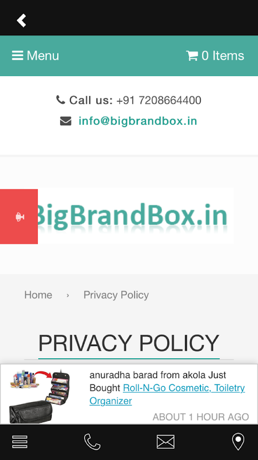 BigBrandBox- screenshot