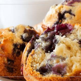 Blueberry Power Muffins.