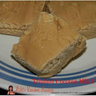 Trinidad Coconut Milk Fudge.