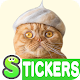 Cats' Hair Hats Stickers Free (app)