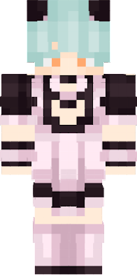 It's TheDreamCraft in maid dress. what you expect?