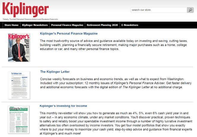 Top 10 Best Investment Newsletters - Kiplinger