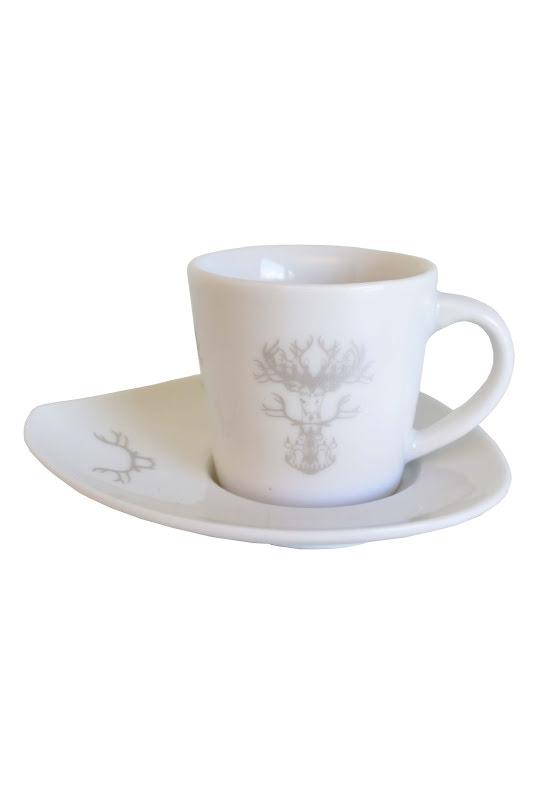 Espresso kop Nordic silver