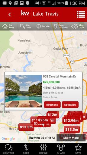 Keller Williams Real Estate screenshot