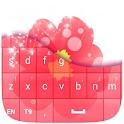 Keyboard Flower Theme Free icon