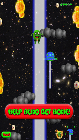 android Alien Jump Free Screenshot 0