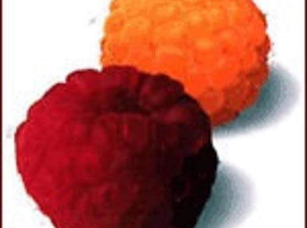 Raspberry Crisp With Fudge Recipe