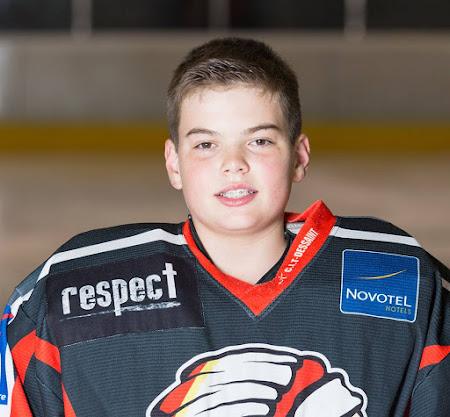 Goalie: Stijn Raeymaekers #1