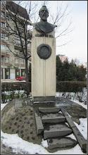 Photo: Cluj-Napoca - Str. Cuza Voda,  monument  Alexandru Ioan Cuza - 2018.01.19