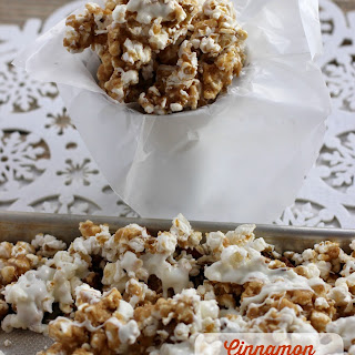 Cinnamon White Chocolate Caramel Corn