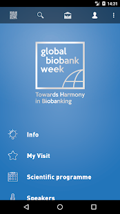 Global Biobank Week 2017 – Vignette de la capture d'écran