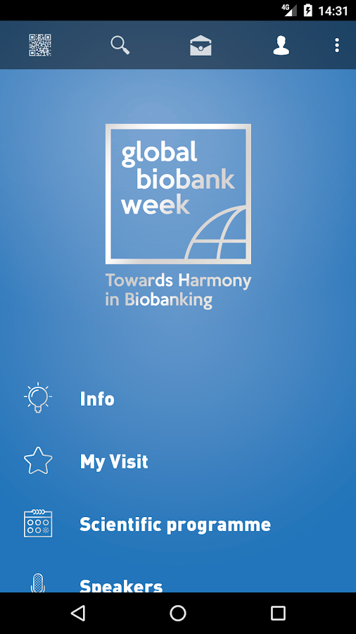 Global Biobank Week 2017 – Capture d'écran