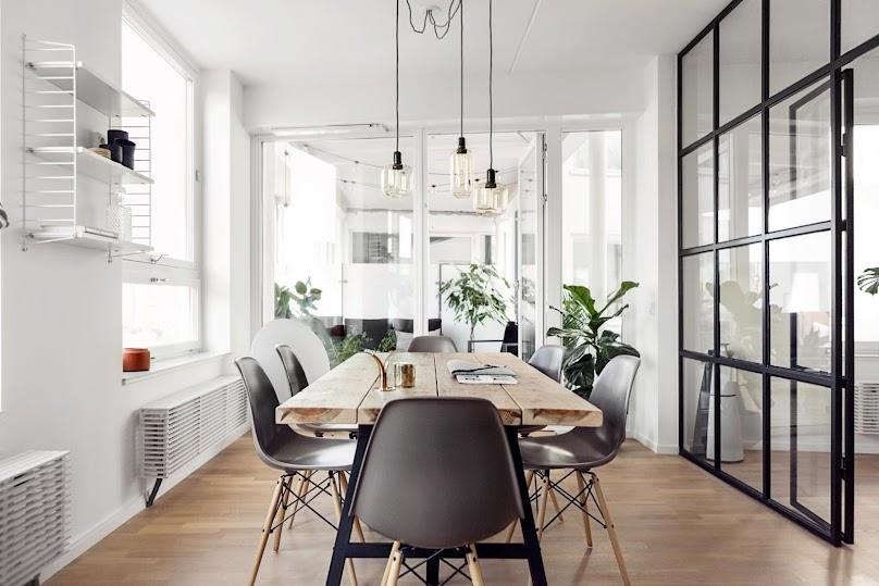Wnętrze w stylu skandynawskim