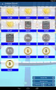 Плавание нормативы, рекорды screenshot 5